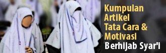 artikel tutorial dan motivasi hijab syar'i